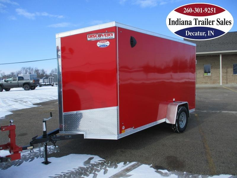 2021 Discovery Trailers 6x12 DRSE612SA Enclosed Cargo Trailer