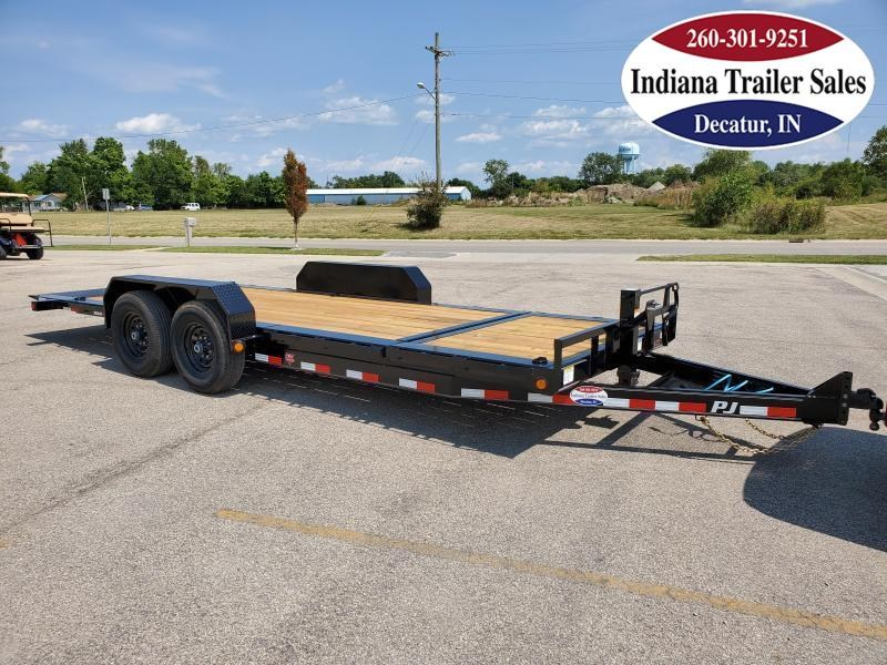 2021 PJ Trailers 82x20 TJ2072 Equipment Trailer Tilt