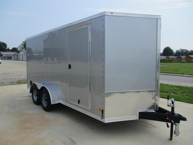 Rental - 2022 Darkhorse Cargo 7x16 Enclosed Cargo Trailer