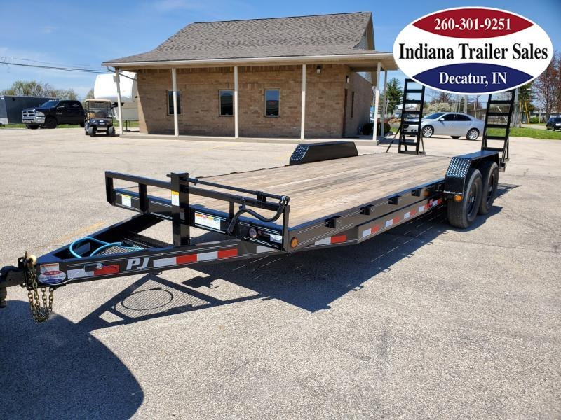 2021 PJ Trailers 83x22 CC222 Equipment Trailer