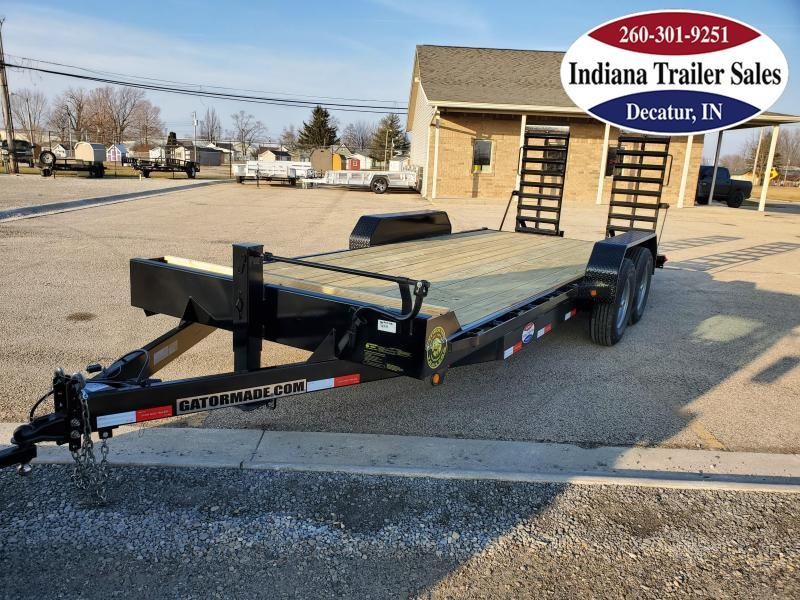 2021 Gatormade Trailers 82x21 +3 Series Equipment Trailer