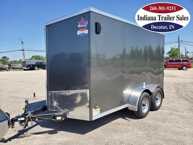 2021 US Cargo 6x12TA2 ULAFTX612TA2 Enclosed Cargo Trailer