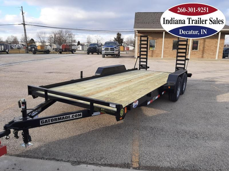 2021 Gatormade Trailers 82x18 GT-XT Equipment Trailer