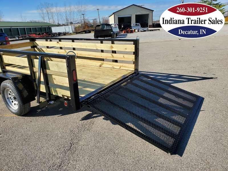 2021 Quality Steel and Aluminum 6x12 - 7412AN3.5KSA Utility Trailer