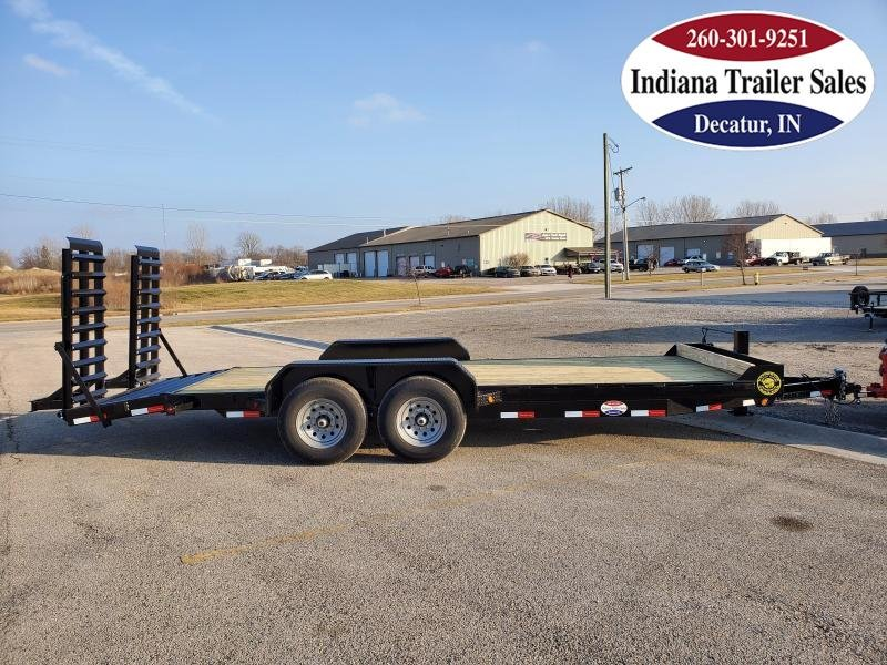 2021 Gatormade Trailers 82x21 14K GVWR Equipment Trailer