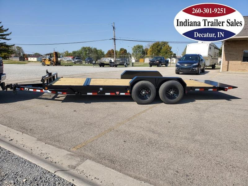 2021 PJ Trailers 82x20 T6202 Equipment Trailer Tilt