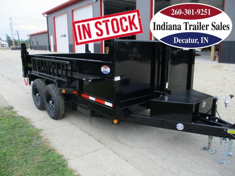 2022 Quality Steel and Aluminum 83x14 8314D14K Dump Trailer