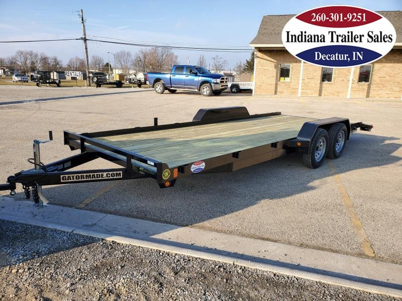 2021 Gatormade Trailers 82x20 Lowboy Car / Racing Trailer