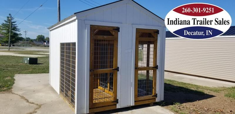2017 Sheds Direct 8x12 Dog Kennel