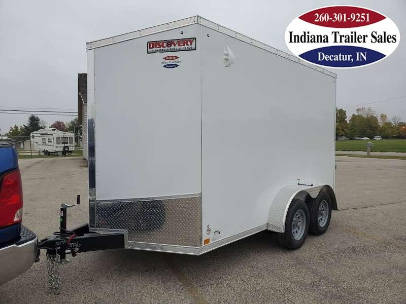 2021 Discovery Trailers 7x12 DRSE712TA2 Enclosed Cargo Trailer