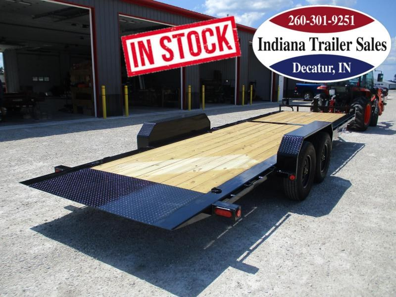 2022 PJ Trailers TJ24 82x24 Equipment Trailer Tilt