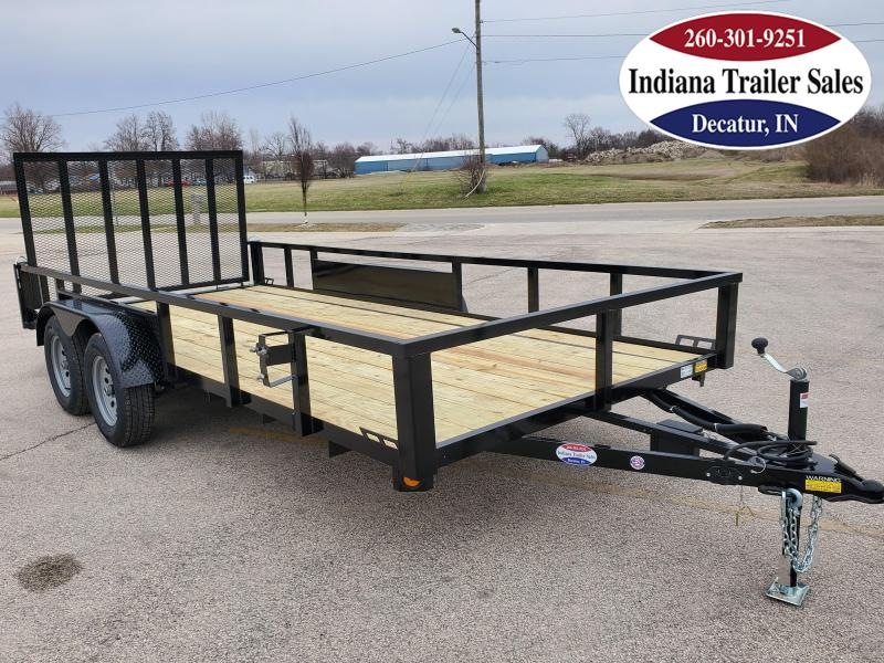 2021 Quality Steel and Aluminum 82x16 - 8216AN7KTA Utility Trailer