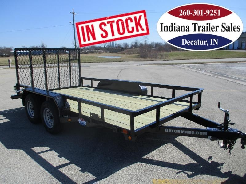 2022 Gatormade Trailers 82x14ft Utility Trailer