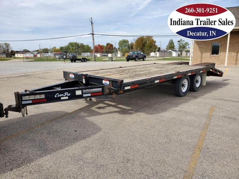 2007 CornPro 102x21 FB21 Equipment Trailer