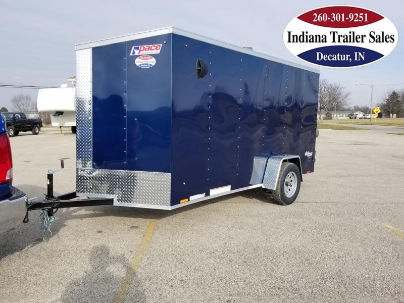 2021 Pace American 6x12 OB6X12SI2DLX Enclosed Cargo Trailer