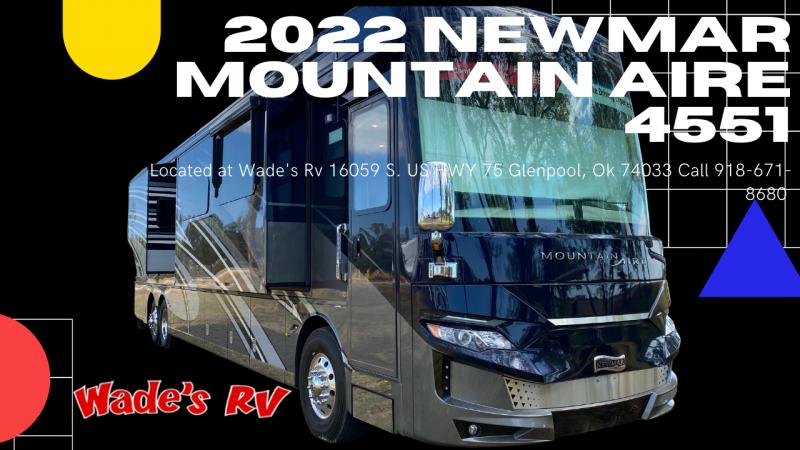 2022 Newmar Mountain Aire 4551 Class A RV