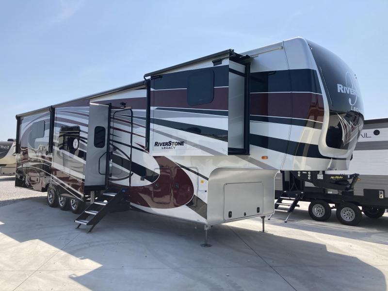 2021 Forest River Riverstone Legacy 42FSKG Toy Hauler RV