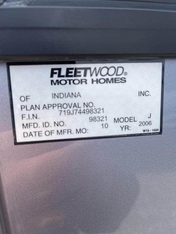 2007 Fleetwood American Eagle 40J Class A RV