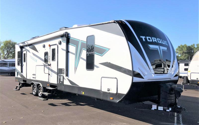 2022 Heartland Recreational Vehicles Torque T322 Toy Hauler RV
