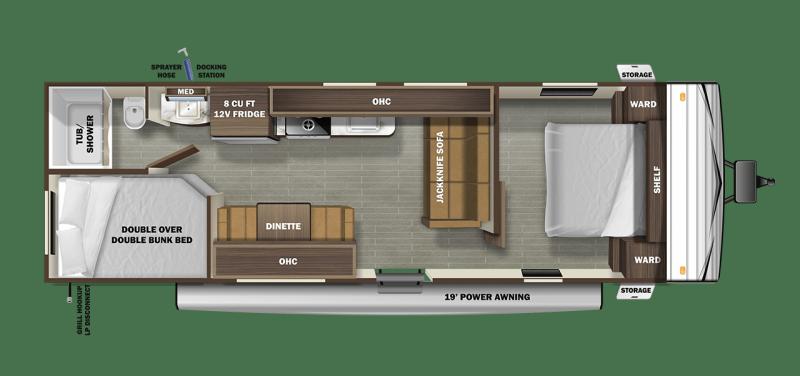 2022 Starcraft Autumn Ridge 26BH Travel Trailer RV