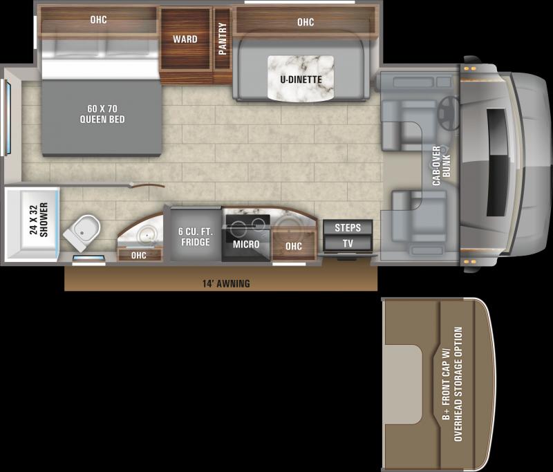 2021 Entegra Coach Qwest 24L Class C RV