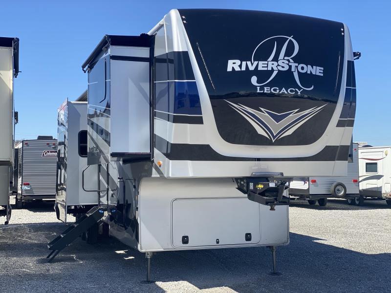 2021 Forest River River Stone 42FSKG Toy Hauler RV