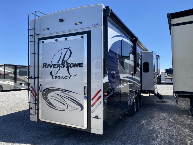 2021 Forest River River Stone 42FSKG Toy Hauler RV