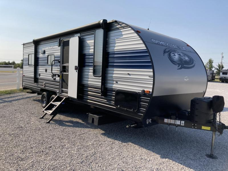 2020 Forest River Grey Wolf 22RR Toy Hauler RV