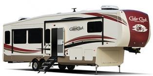 2019 Forest River Cedar Creek Hathaway Edition 34RL Fifth Wheel Campers RV