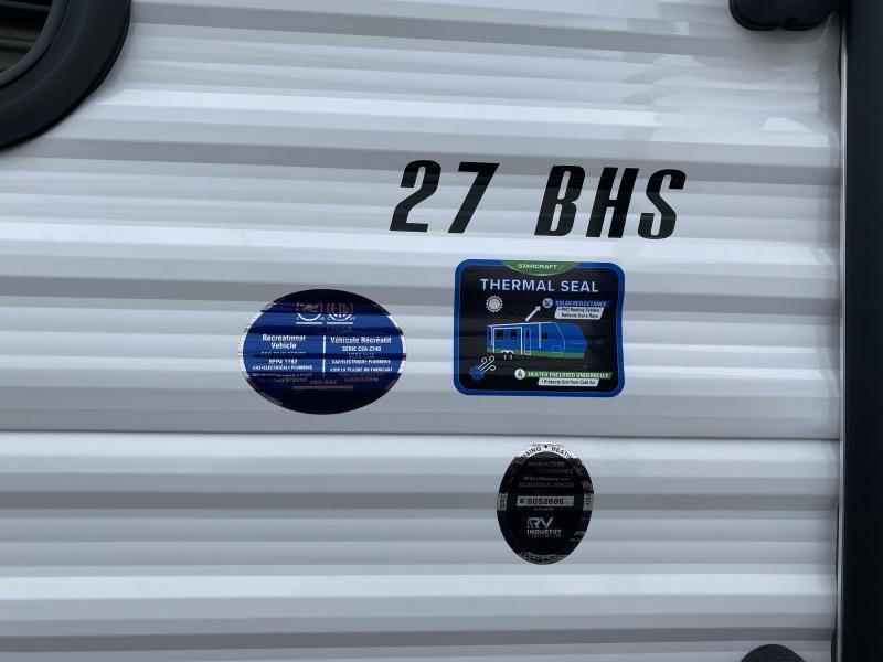 2021 Starcraft Autumn Ridge 27BHS Travel Trailer RV