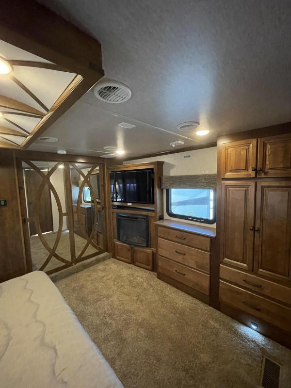 2018 Heartland RV Landmark 365 Oshkosh Fifth Wheel Campers RV
