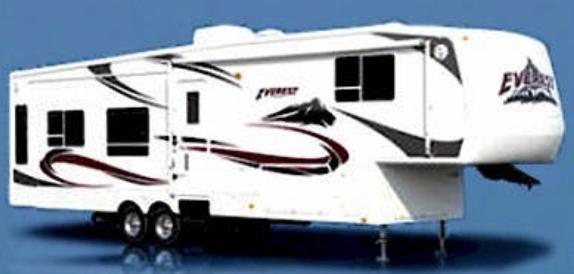 2007 Keystone RV Everest 344J Fifth Wheel Campers RV