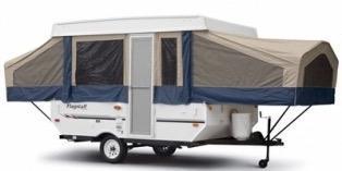 2008 Forest River Flagstaff HW25ST Tent Camper RV