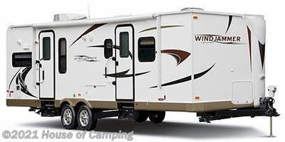 2011 Rockwood Windjammer 3001W Travel Trailer RV