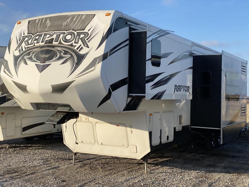 2014 Keystone RV Raptor 410LEV Toy Hauler RV