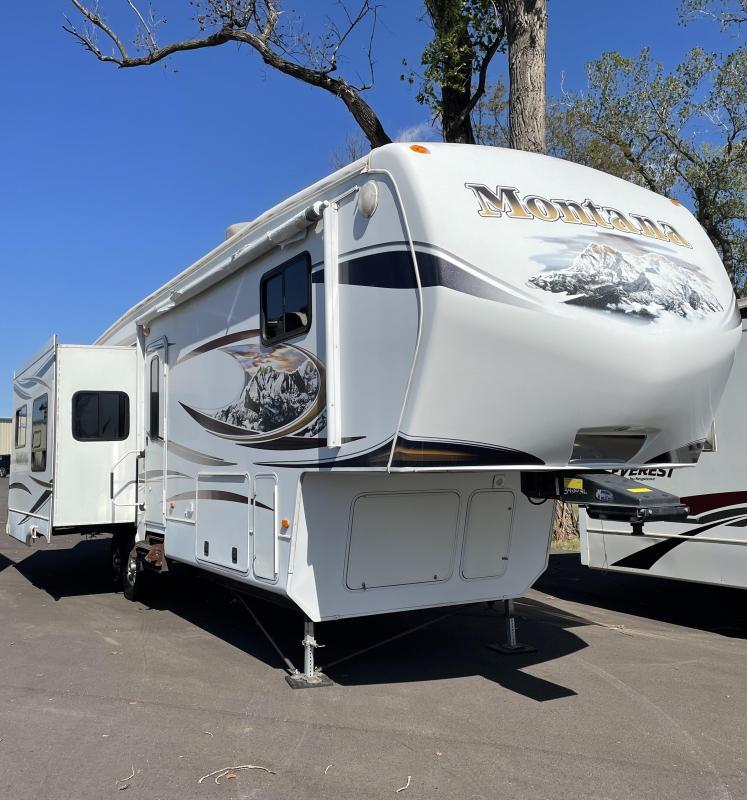 2011 Keystone RV Montana Hickory M-340 RL Fifth Wheel Campers RV