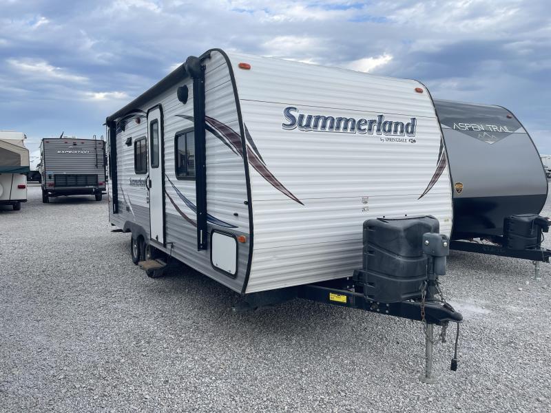 2014 Keystone RV Springdale Summerland 2020QB Travel Trailer RV