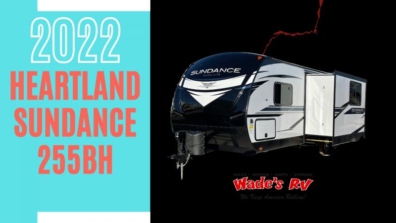 2022 Heartland Sundance 255BH Travel Trailer RV