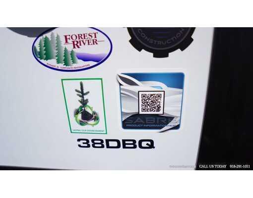 2021 FOREST RIVER SABRE 38DBQ