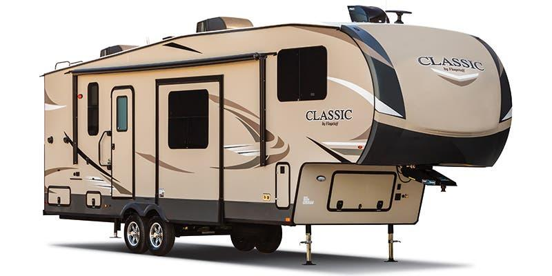 2017 Forest River Flagstaff Classic 8529IKBS Fifth Wheel Campers RV