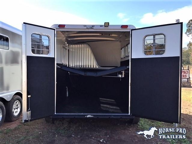 2022 4-Star 2 Horse Slant Load Bumper Pull - No Rear Tack