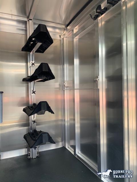 2021 Exiss 20' Stock Combo Gooseneck w/Dressing Room