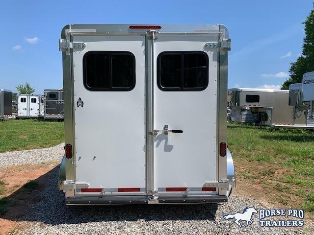 2022 Adam Rustler 2 Horse Slant Load Bumper Pull 7'6 Tall