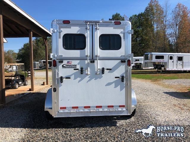 2022 Cimarron 2 Horse Straight Load Warmblood Bumper Pull