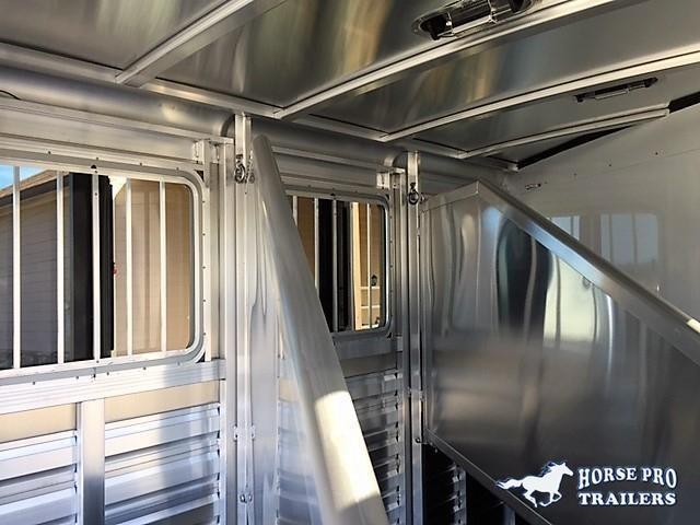 2021 Exiss CXF 3 Horse Slant Load Bumper Pull - POLYLAST FLOOR!
