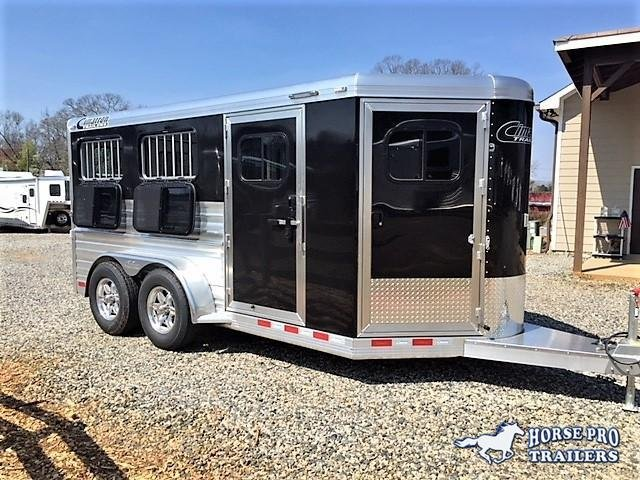 2020 Cimarron Showstar LX16'6 Low Profile Pig/Stock Bumper Pull w/DROP WINDOWS & ADJUSTABLE PENS