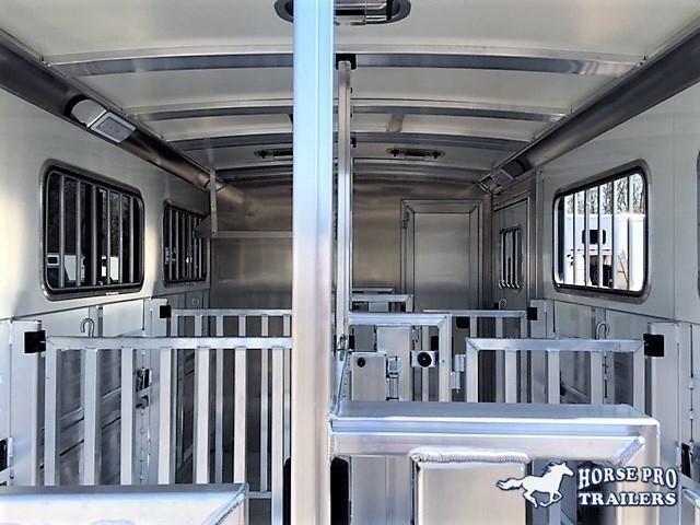 2021 Cimarron Showstar LX16'6 Low Profile Pig/Stock Bumper Pull w/DROP WINDOWS & ADJUSTABLE PENS