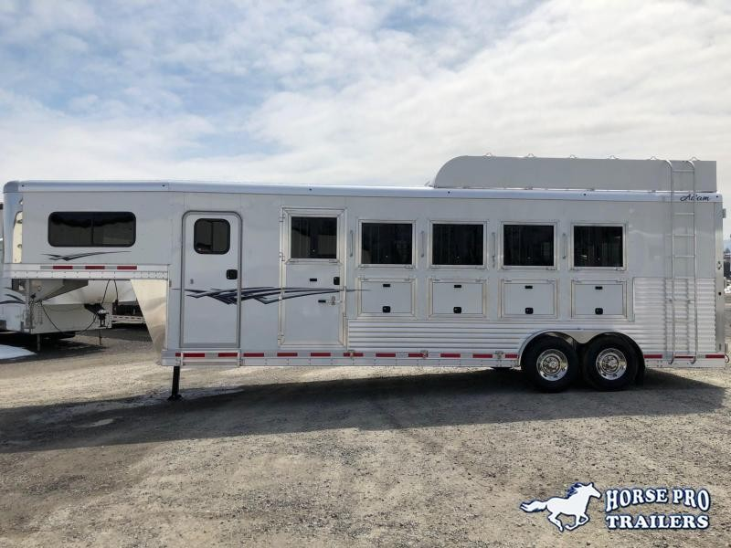 2021 Adam Excursion 3 Horse Slant Gooseneck