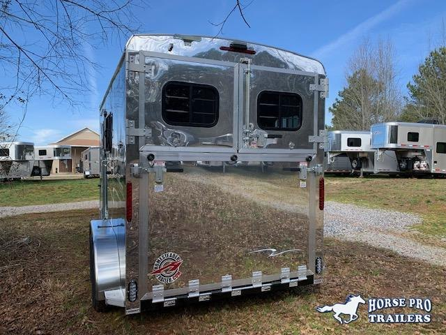 2021 Homesteader 2 Horse Slant Load Bumper Pull w/RAMP & ESCAPE DOOR