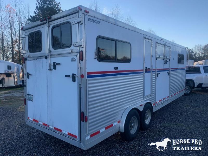 2012 4 Horse Head to Head Gooseneck